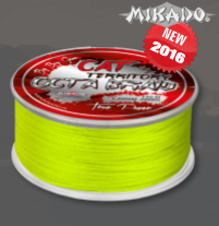 PLETENÁ ŠŇŮRA MIKADO CAT TERRITORY OCTA BRAID 30 M - YELLOW