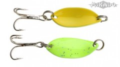 TŘPYTKA MIKADO TROUT CAMPIONE MINI 2,2 CM FLUORO - GREEN/YELLOW