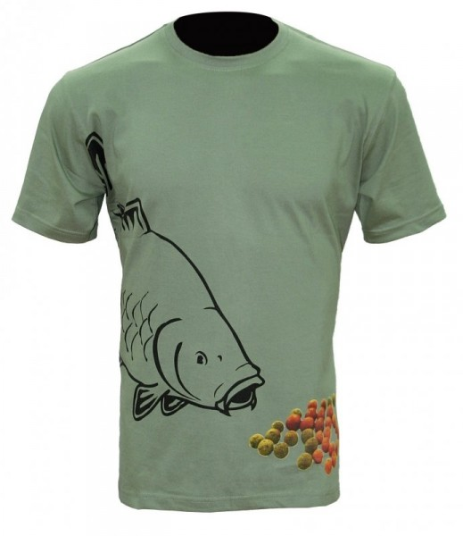 ZFISH Boilie T-shirt Olive Green XXL