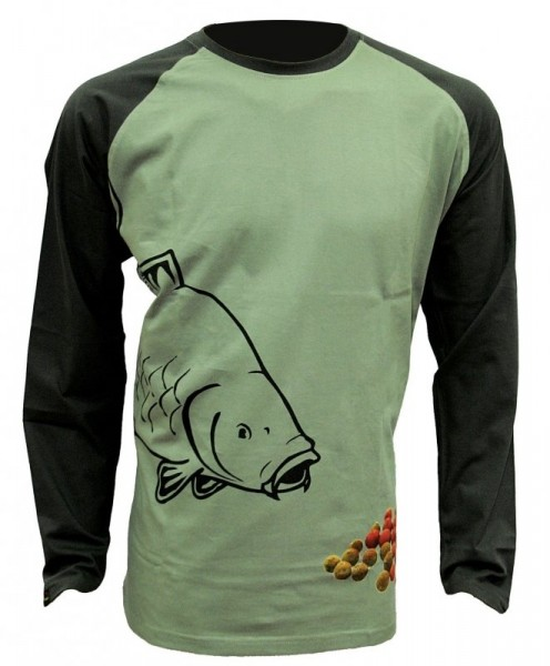 ZFISH Boilie T-Shirt Long Sleeve XXL