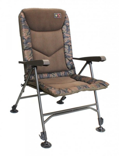 ZFISH Zfish Křeslo Deluxe Camo Chair
