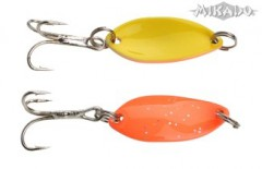 TŘPYTKA TROUT CAMPIONE MINI 2,2 CM - ORANGE GLITTER/YELLOW