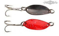 TŘPYTKA TROUT CAMPIONE MINI 2,2 CM - RED GLITTER/BLACK
