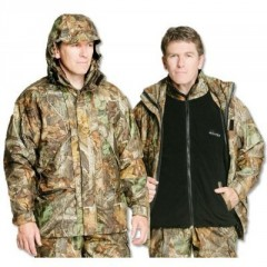 DAIWA Mission Jacket with zipout fleece